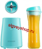 Блендер Xiaomi Qcooker Portable Cooking Machine Youth Version (Blue)
