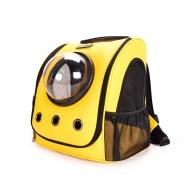 Рюкзак-сумка для животных Xiaomi Little Beast Star Pet School Bag Breathable Space For Cats And Dogs Yellow